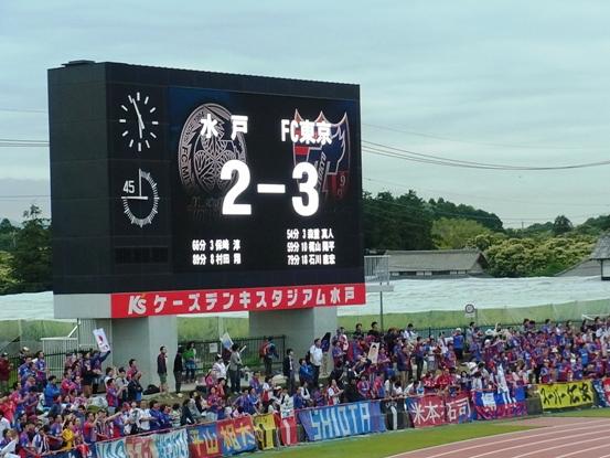水戸ホーリーホック vs FC東京(...
